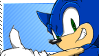 Sonic The Hedgehog Stamp. by Kyaatto