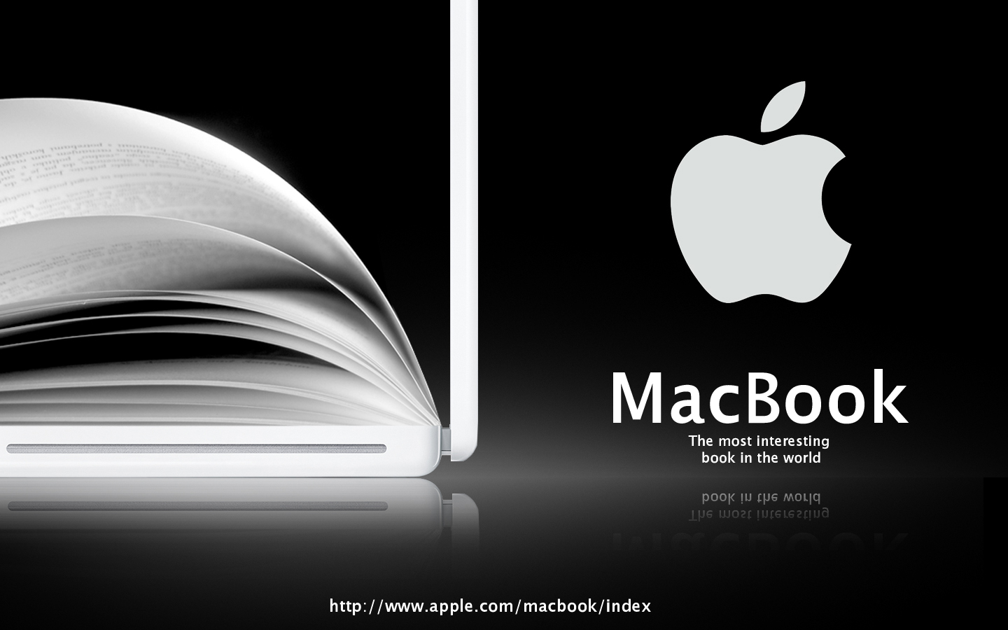 Advert for Apple Macbook by i-visual