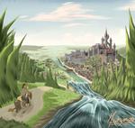 Concept art : Valley of the Tonn river, Aesken