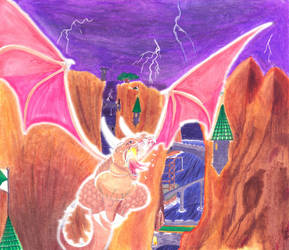 Flight of The Dragon by Gecko1993