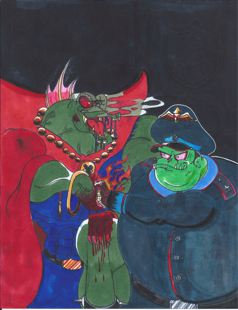 Alliance Between The Lizard Lord And Generalissimo by Gecko1993
