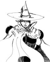 Elta (Magician Lord) Traditional Ink by Gecko1993