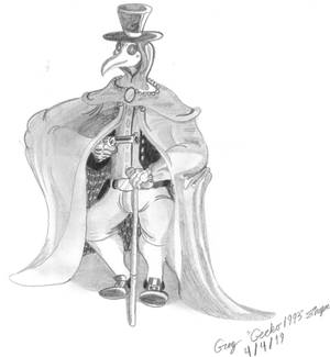 The Last Plague Doctor of The Wild West...