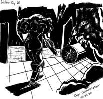 Inktober Day 31: Crawl