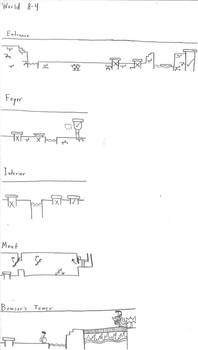 ANOTHER Super Mario Bros. Guide: Hand-Drawn!