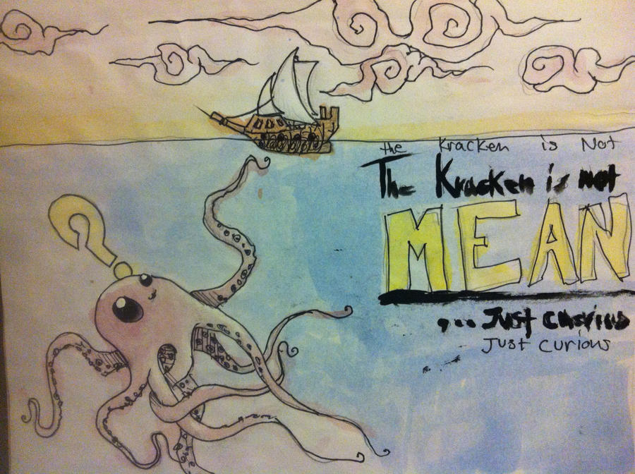 Kraken Kutie by Ahoynateo