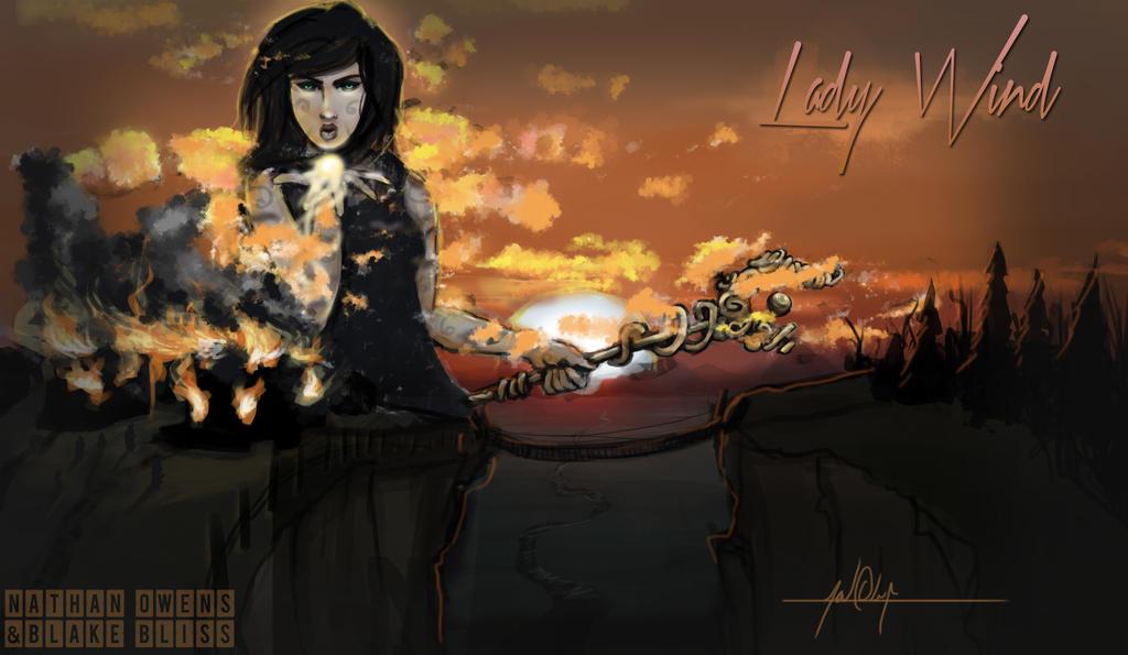 Lady Wind by Ahoynateo