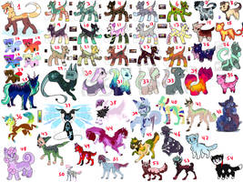 50+ MASSIVE UNSOLD ADOPTS OTA (CLOSED) by AstrexCorp