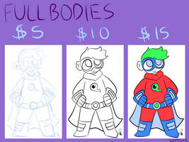 Super Simple Commissions Sale (FULLBODY) by AstrexCorp