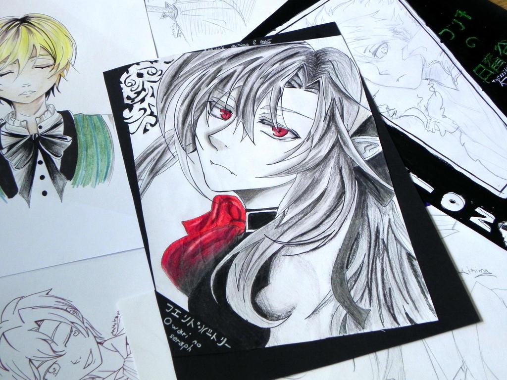 Ferid Bathory (Anime - Owari no Seraph) by IrinaMartis