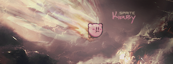 Kirby.flies.through.clouds by faYter