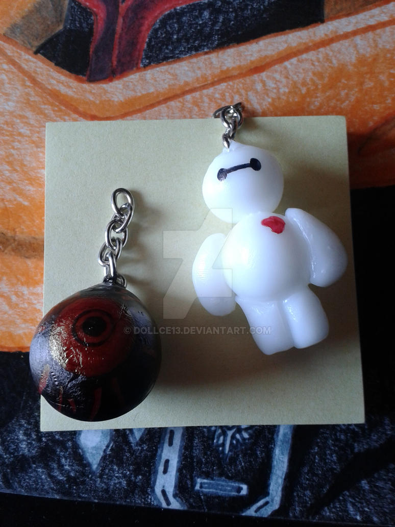 Baymax and Ghoul Eye by DOLLce13 on DeviantArt