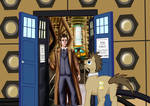 MLPxDoctor Who: the Two Doctors