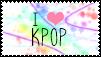 i love kpop stamp by noyako