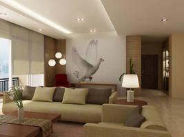 Living room scene 4 by RullyArt