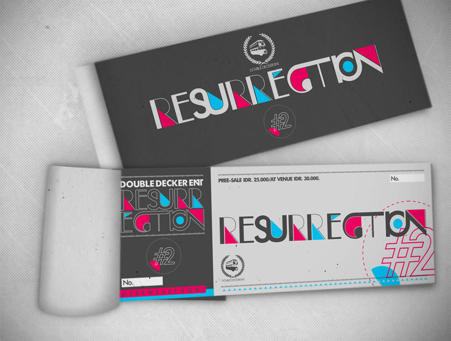 resurrection 39 s ticket by bayuwiranagara on deviantart
