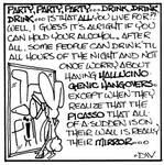 DW Rabbit Cartoon by PeridotPangolin
