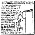 DW Rabbit Cartoon 6 by PeridotPangolin