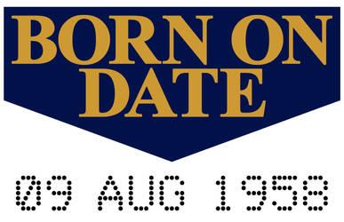 BORN ON DATE by PeridotPangolin
