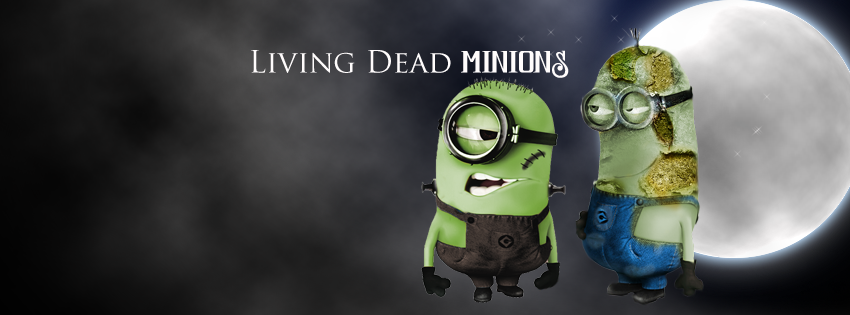 Despicable me minions, spooky facebook cover by ...