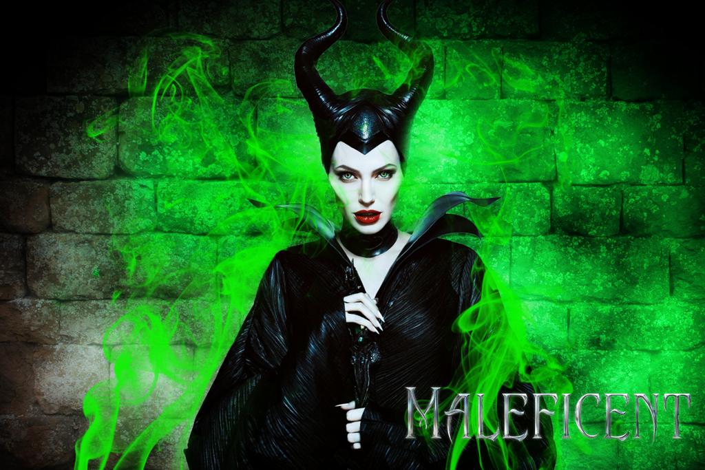 Maleficent Desktop Wallpaper by LivingDeadSmurf on DeviantArt