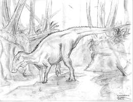 Edmontosaurus by Ashere
