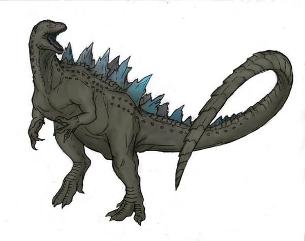 Gojirasaurus xenonucliensis by Ashere
