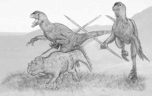 Venatosapiens Erectus by Ashere