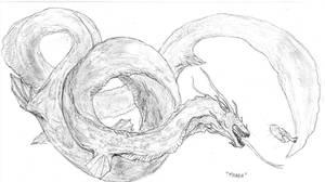 Titananguilus Manda by Ashere