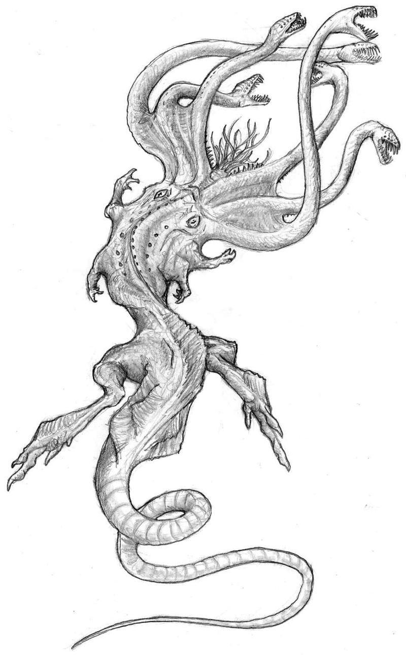 scylla by ashere on deviantart