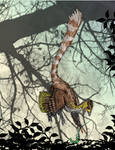 Anchiornis in the Thicket