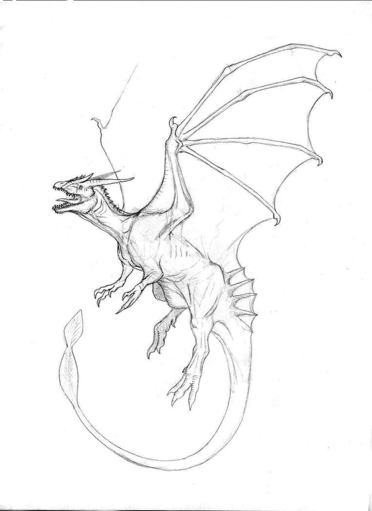 Mountain Dragon by Ashere