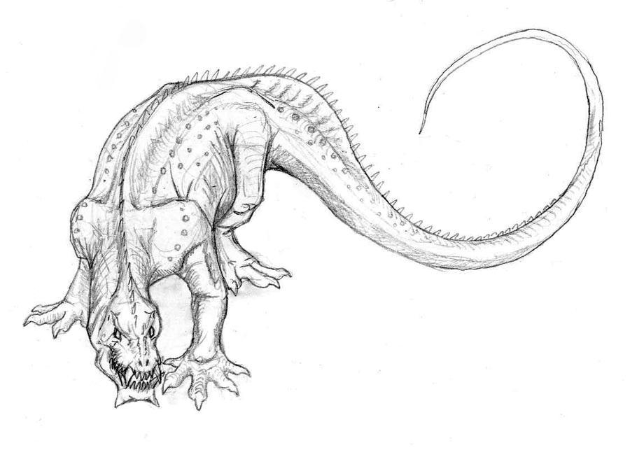 Preta Dragon by Ashere