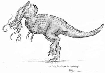 Cthulhu'rex by Ashere