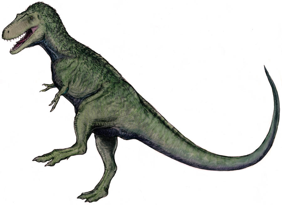 Appalachiosaurus Rampant by Ashere