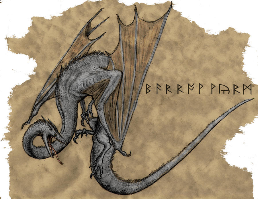 The Barrow Wyrm by Ashere