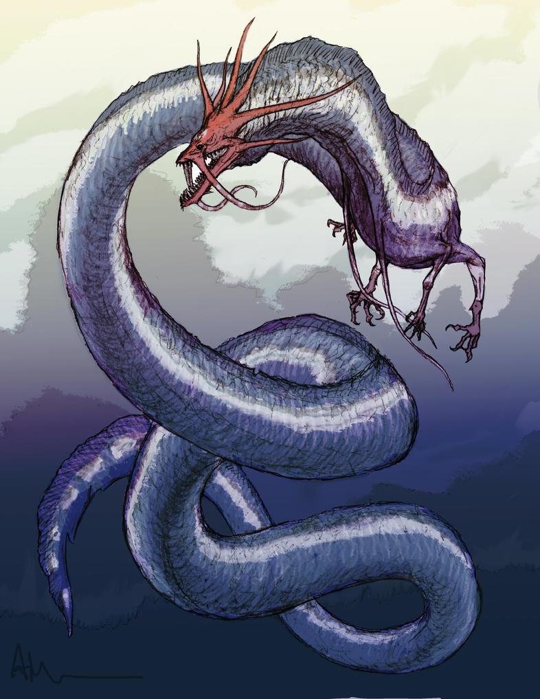 wallpaper chaos dragon