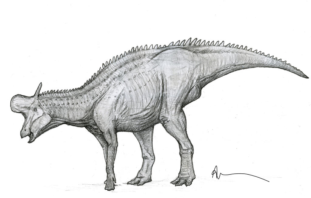Lambeosaurus by Ashere