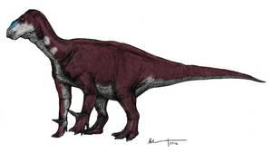 Iguanodon by Ashere