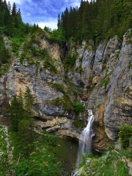 Sprutz Waterfall - Switzerland