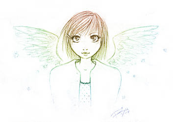 ..Colorful Angel:. by PrincessRiyu