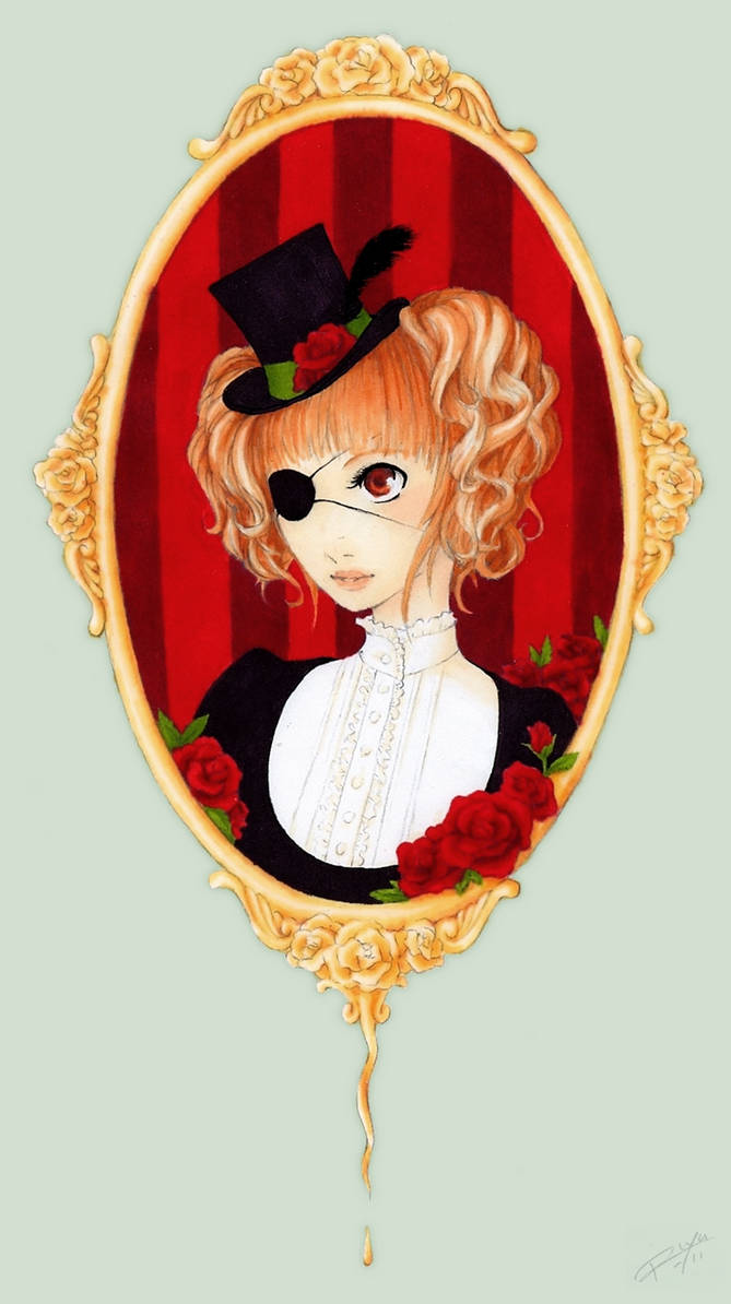 Like a red, red rose... by PrincessRiyu