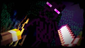 Enderman Attack [SFM] Minecraft
