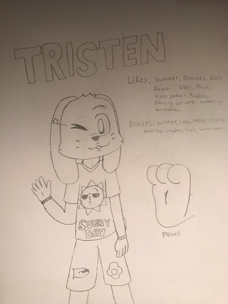 New OC: Tristen  by Piposaru200