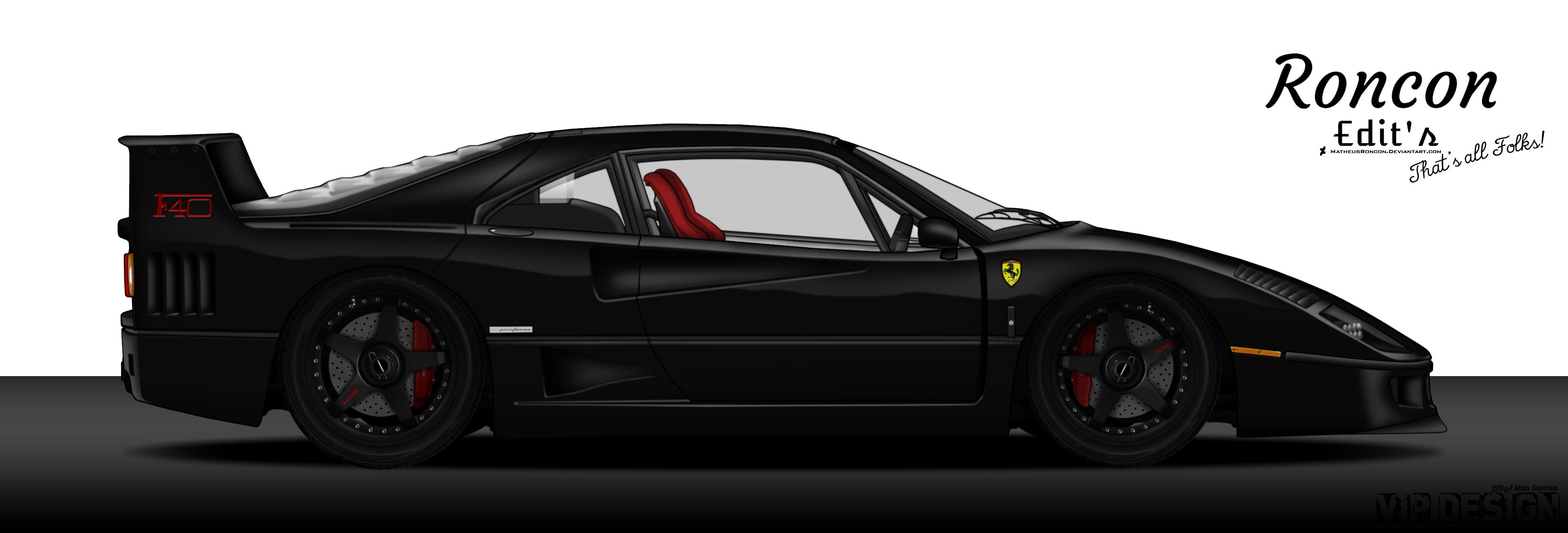 Ferrari F40 Gas Monkey By Matheusroncon On Deviantart