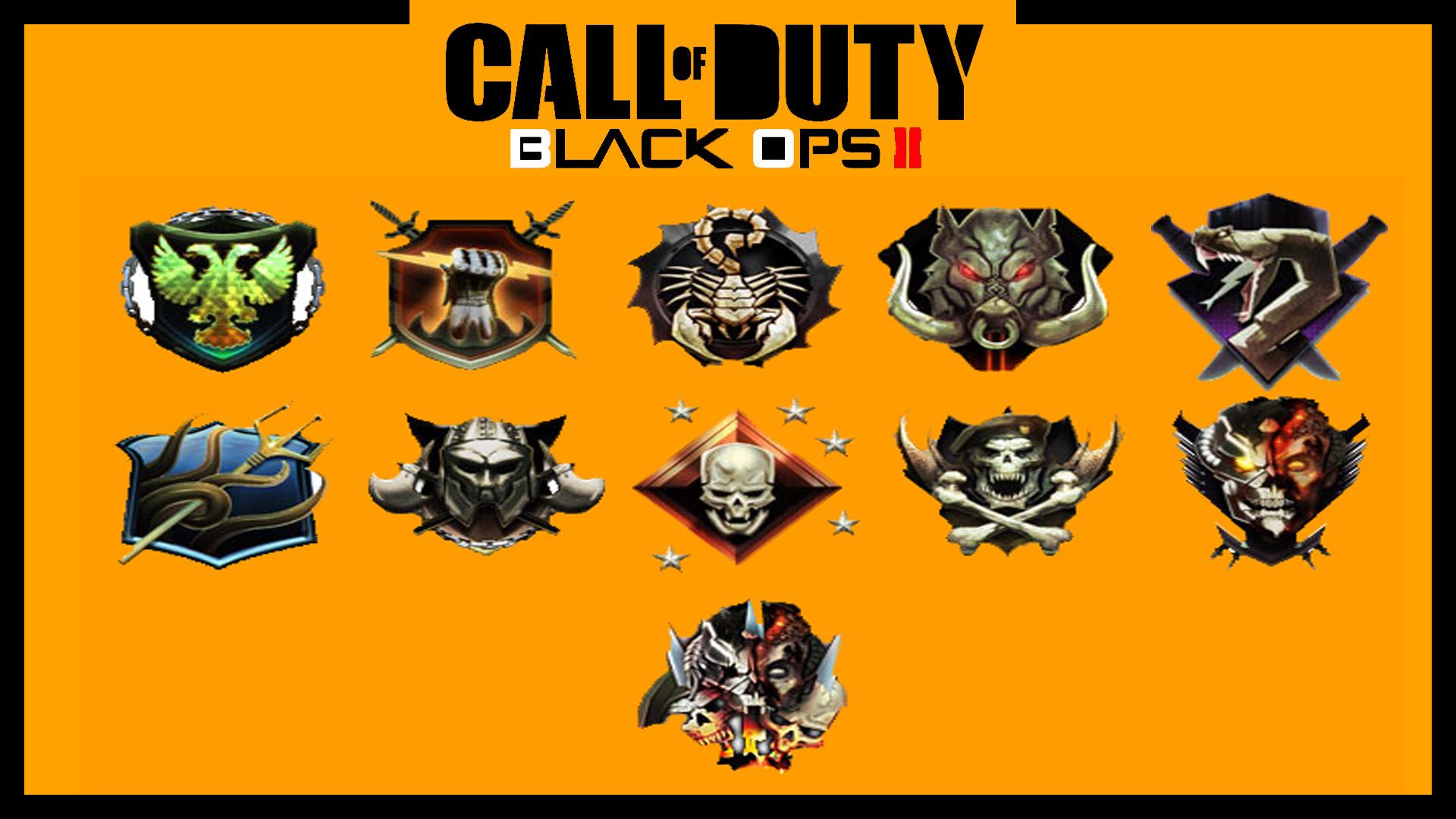 Prestige Emblems Black Ops 1 Black Ops ii Prestige Emblems