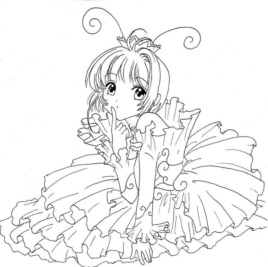 magical fairies coloring pages - photo#19