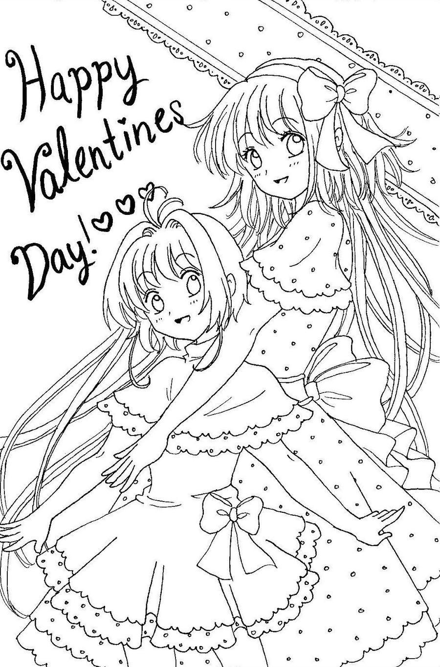 Line Art Valentine : Happy valentine s day line art by munmunchan on deviantart