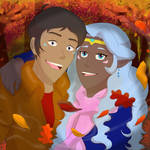 Allura and Lance Autumn