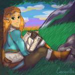 Zelda taking a well deserved break